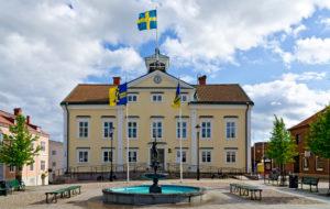 Hauptplatz von Vimmerby